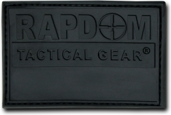 View Buying Options For The RapDom Logo Rubber H&L Velcro-Back Patch [Pre-Pack]