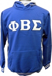View Buying Options For The Phi Beta Sigma Applique Pullover Mens Hoodie