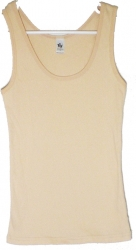 View Buying Options For The Chelona Plain 2x1 Ribbed Boy Beater Junior Womens Tank Top