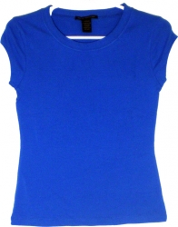 View Buying Options For The Plain Babydoll Style Junior Womens Tee