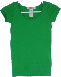 View Buying Options For The New Mix Plain Stretch-Fit Junior Womens Jersey Tee [Pre-Pack]