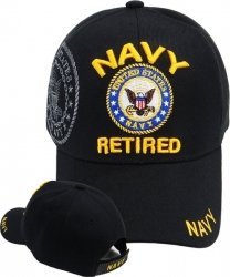 View Buying Options For The Navy Retired Shield Shadow Mens Cap