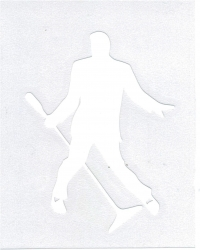 View Buying Options For The Elvis Presley Silhouette Cut-Out Graphic Decal Sticker