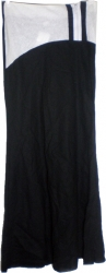 View Buying Options For The O-Zone Linen Combination Junior Womens Long Skirt with Off-Center Zipper
