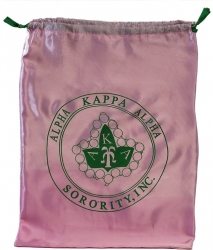 View Buying Options For The Alpha Kappa Alpha Drawstring Shoe Bag