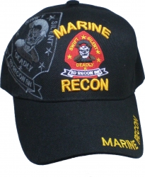 View Buying Options For The Marine 2nd Recon Battalion Shadow Mens Cap