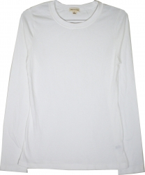 View Buying Options For The Plain Junior Womens Long Sleeve Tee