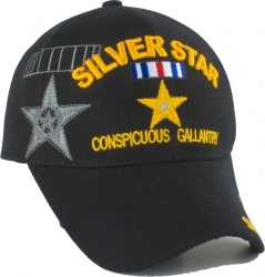 View Buying Options For The Silver Star Conspicuous Gallantry Shadow Mens Cap