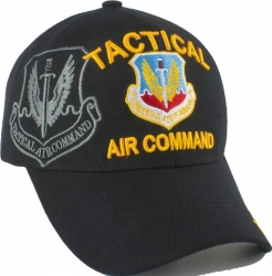 View Buying Options For The Tactical Air Command Emblem Shadow Mens Cap