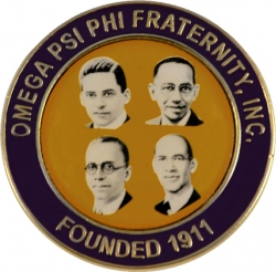 View Buying Options For The Omega Psi Phi Founders Faces Lapel Pin