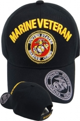 View Buying Options For The Marine Veteran Shadow On Bill Mens Cap