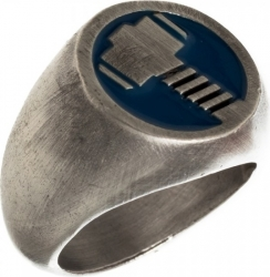 View Buying Options For The Marvel Thor Brushed Nickel Mens Ring