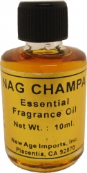 View Buying Options For The New Age Nag Champa India Essential Fragrance Oil [Pre-Pack]