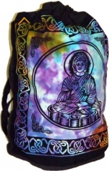 View Buying Options For The Buddha Tie-Dye Cotton Sling Backpack