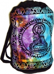 View Buying Options For The Quan Yin Tie-Dye Cotton Sling Backpack