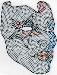 View Buying Options For The Eastern Star Symbol Mask Studstone Heat Transfer