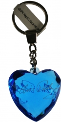 View Buying Options For The Elvis Presley 3D Crystal Heart Acrylic Keyring