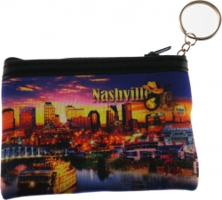 View Buying Options For The Elvis Presley Nashville Collage Scene Coin Purse