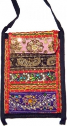View Buying Options For The East Indian Sequined Embroidery Large Cell Holder