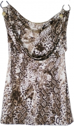 View Buying Options For The Cefian Animal Skin Print Junior Womens Dress
