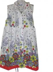 View Buying Options For The I.C.U. Spring Flower Print Flare Junior Womens Dress