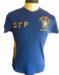 View Buying Options For The Sigma Gamma Rho Crest Dri-Fit Ladies Tee