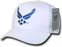 View Buying Options For The RapDom Air Force Back To The Basics Meshback Mens Cap