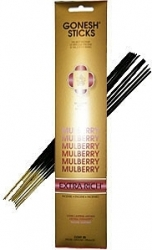 View Buying Options For The Gonesh Mulberry 20-Stick Incense Pack [Pre-Pack]