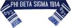 View Buying Options For The Phi Beta Sigma Divine 9 Mens Knit Scarf