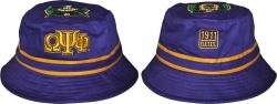 View Buying Options For The Omega Psi Phi Divine 9 Mens Bucket Hat