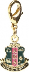 View Buying Options For The Alpha Kappa Alpha Crest Charm