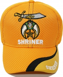 View Buying Options For The Shriner Emblem Wave Bill Mens Air Mesh Cap