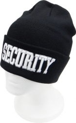 View Buying Options For The Security Text Mens Cuffed Beanie Cap