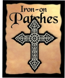 View Buying Options For The Ornate Cross Iron-On Patch [Pre-Pack]