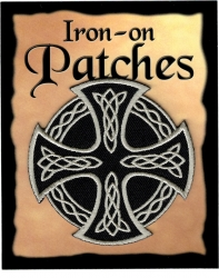 View Buying Options For The Celtic Cross Iron-On Patch [Pre-Pack]
