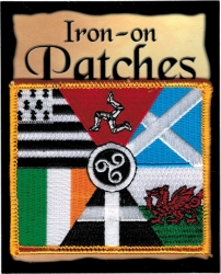 View Buying Options For The Celtic Nations Flag Iron-On Patch [Pre-Pack]