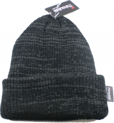 View Buying Options For The Thinsulate Thick Chunky Mixed Knit Cuffed Beanie Cap