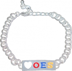 View Buying Options For The Eastern Star ID Heart Bracelet
