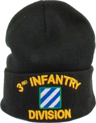 View Buying Options For The 3rd Infantry Division Cuff Beanie Cap
