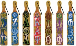 View Buying Options For The Greek Or Masonic Mirror Letter Topped Paddle