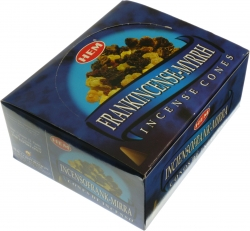 View Buying Options For The HEM Frankincense-Myrrh Incense Cones [Pre-Pack]