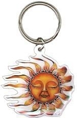 View Buying Options For The Sleeping Sun Metal Keyring