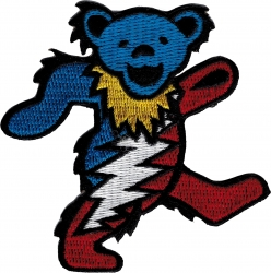 View Buying Options For The Grateful Dead Dancing Bear with Lightning Patch