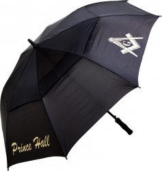 View Buying Options For The Prince Hall Mason Classic Jumbo Air-Vent Umbrella