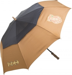 View Buying Options For The Iota Phi Theta Classic Jumbo Air-Vent Umbrella
