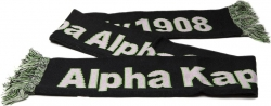 View Buying Options For The Alpha Kappa Alpha Sorority 1908 Knit Scarf