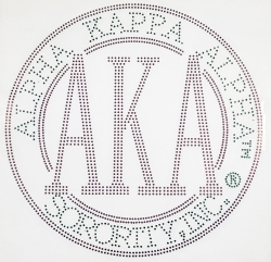 View Buying Options For The Alpha Kappa Alpha Sorority, Inc. Circle Heat Transfer