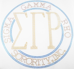 View Buying Options For The Sigma Gamma Rho Sorority, Inc. Circle Heat Transfer