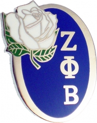 View Buying Options For The Zeta Phi Beta Rose Flower Lapel Pin