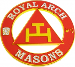 View Buying Options For The Royal Arch Masons Triple Tau Cut Out Car Emblem